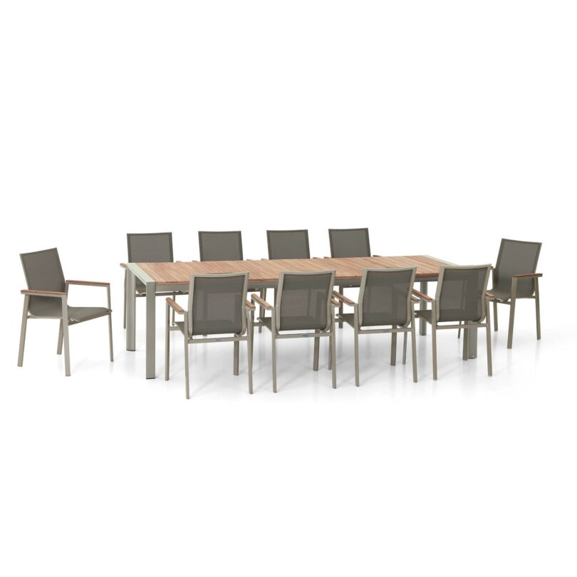 Set Palma mit 10 Sessel