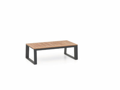 hliníkovo-teakový stôl Siena